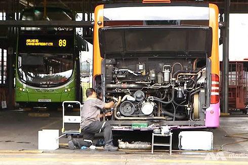 Khám phá hệ thống xe buýt phục vụ 4 triệu hành khách mỗi ngày ở Singapore Ảnh 1