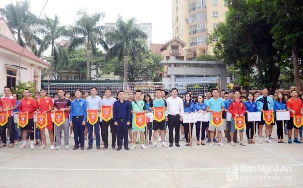 44 đội bóng tham gia Giải bóng đá qua lưới thành phố Vinh lần thứ nhất Ảnh 1