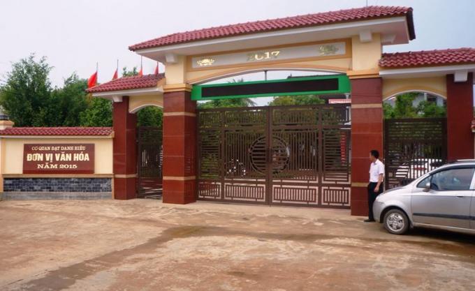 Nghệ An: Chạy vào phòng chủ tịch xã lánh nạn vẫn bị đánh nhập viện Ảnh 1