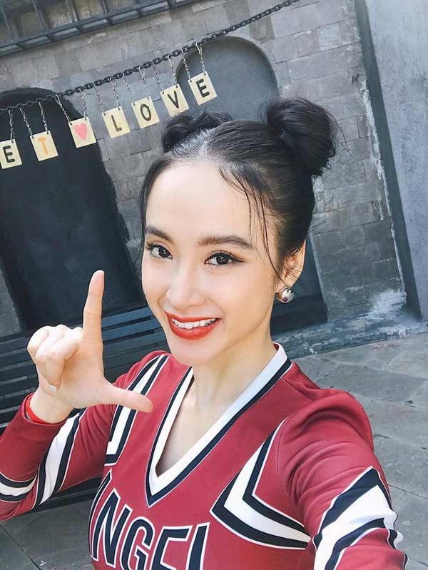 Nhã Phương, Angela Phương Trinh, Minh Tú... mê mẩn kiểu tóc 'Na Tra' Ảnh 2