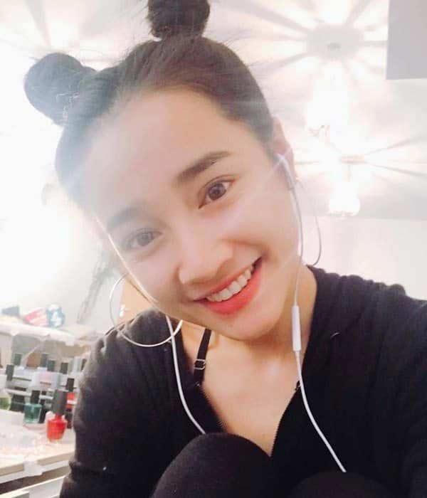 Nhã Phương, Angela Phương Trinh, Minh Tú... mê mẩn kiểu tóc 'Na Tra' Ảnh 7
