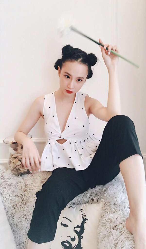 Nhã Phương, Angela Phương Trinh, Minh Tú... mê mẩn kiểu tóc 'Na Tra' Ảnh 3