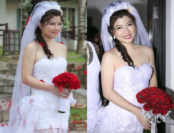 Sao Việt ngày cưới: Giật mình vì sự khác biệt giữa Lan Khuê, Nhã Phương với Jennifer Phạm, Lệ Quyên Ảnh 4