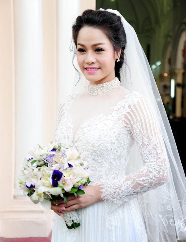 Sao Việt ngày cưới: Giật mình vì sự khác biệt giữa Lan Khuê, Nhã Phương với Jennifer Phạm, Lệ Quyên Ảnh 3