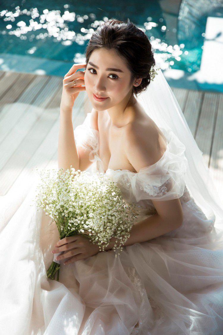 Sao Việt ngày cưới: Giật mình vì sự khác biệt giữa Lan Khuê, Nhã Phương với Jennifer Phạm, Lệ Quyên Ảnh 8