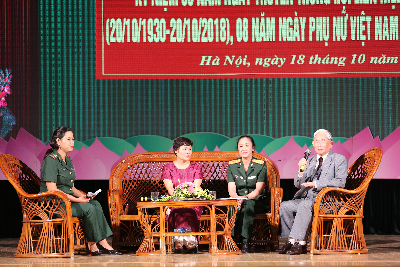Giao lưu, tọa đàm nhân Ngày Truyền thống Phụ nữ Việt Nam Ảnh 2
