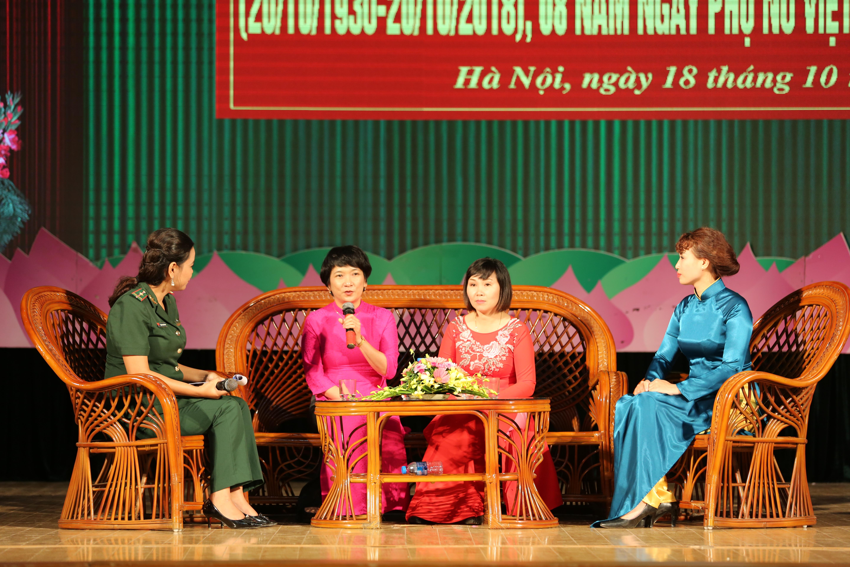 Giao lưu, tọa đàm nhân Ngày Truyền thống Phụ nữ Việt Nam Ảnh 3