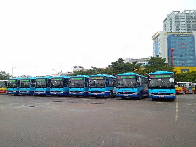 Hà Nội: Mở thêm tuyến buýt từ trung tâm lên sân bay Nội Bài Ảnh 1