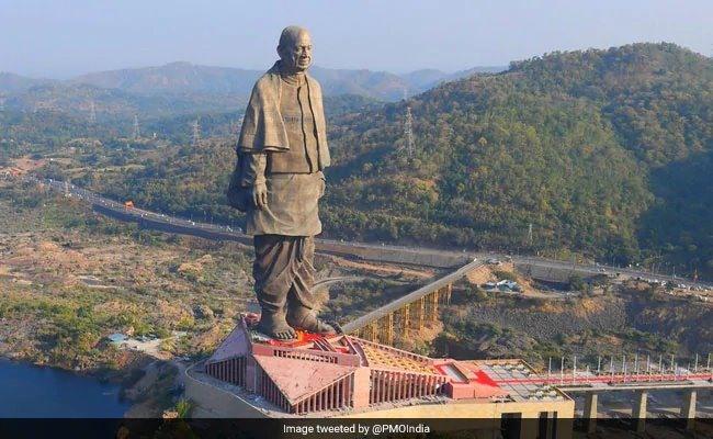 Ấn Độ khánh thành bức tượng cao nhất thế giới Ảnh 1