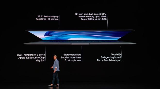 Apple trình làng MacBook Air Retina, giá 1.200 USD Ảnh 1
