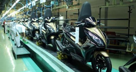 Honda đã sản xuất 25 triệu chiếc xe máy tại Việt Nam ảnh 1