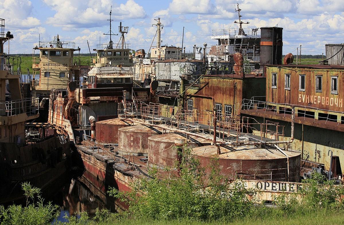 Chùm ảnh: Những góc bị lãng quên ở Nga Ảnh 34