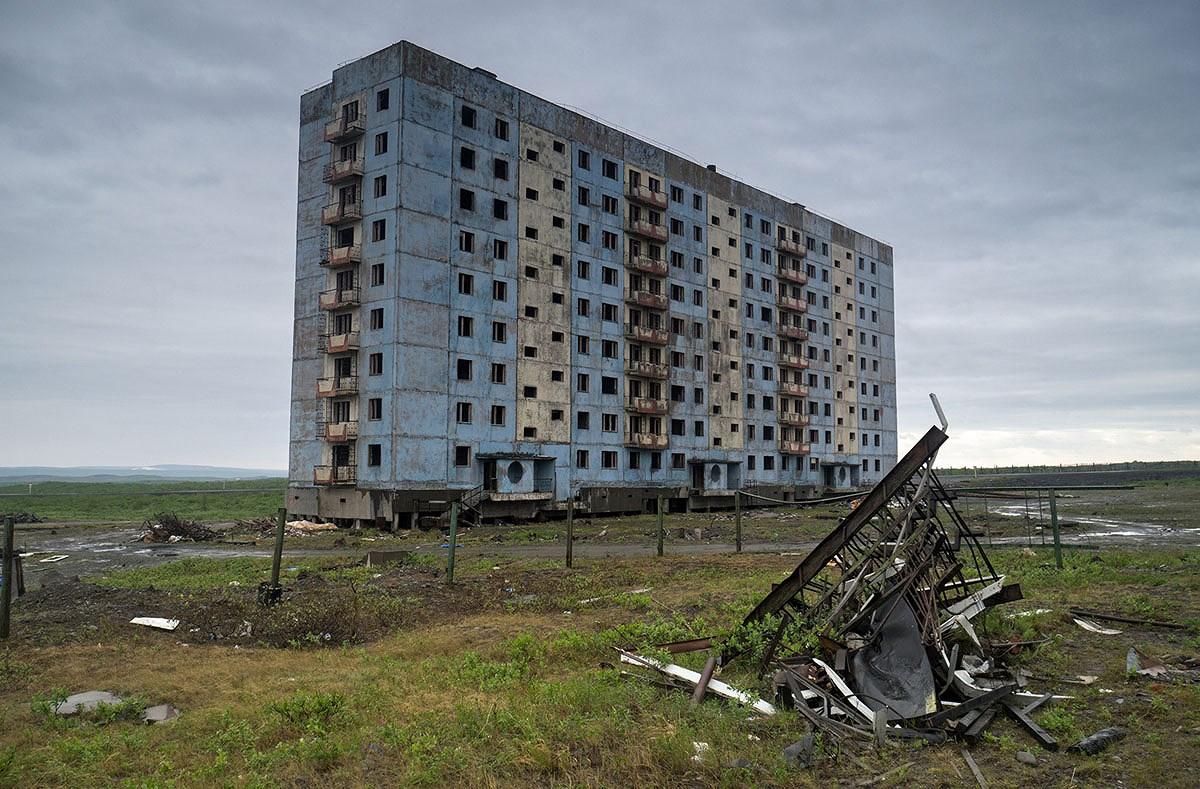 Chùm ảnh: Những góc bị lãng quên ở Nga Ảnh 19