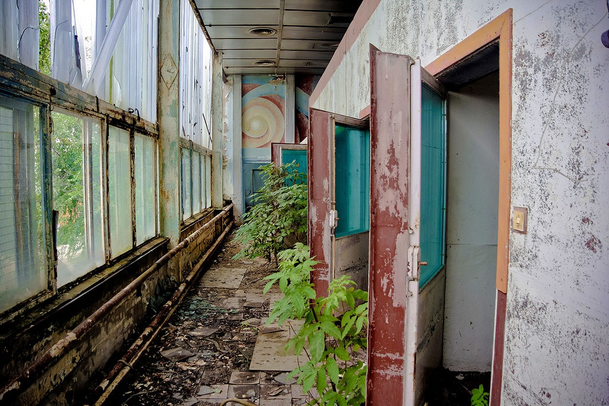 Chùm ảnh: Những góc bị lãng quên ở Nga Ảnh 32