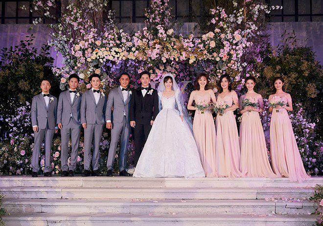 Đường Yên - La Tấn 'khóa môi' ngọt ngào trong đám cưới cổ tích Ảnh 10