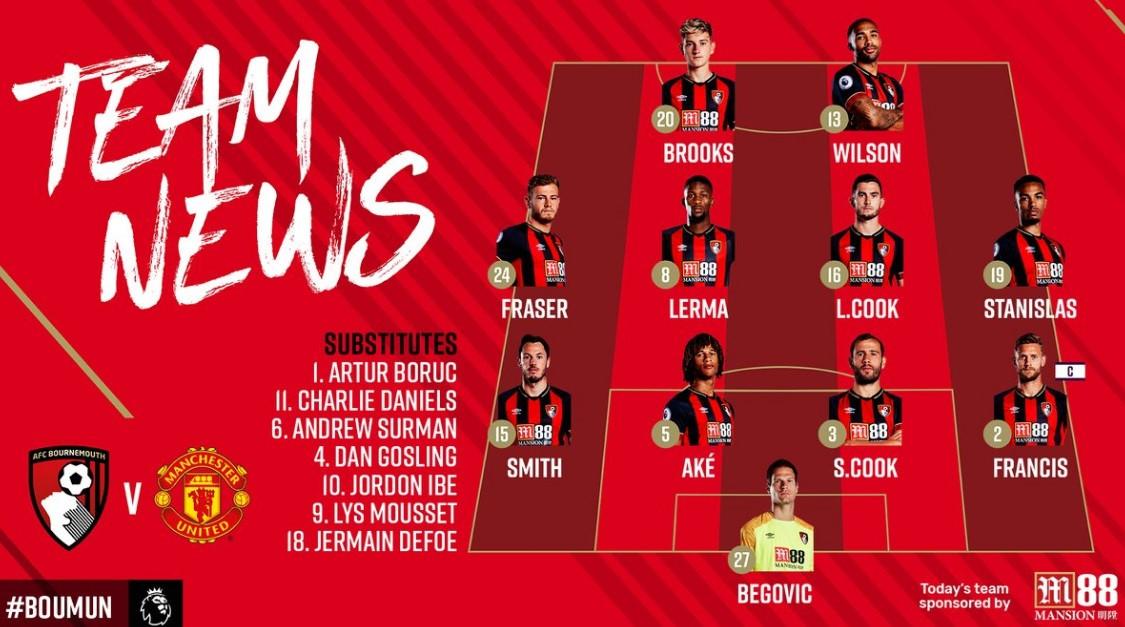 Bournemouth vs Man Utd: Lukaku vắng mặt, Sanchez đá chính Ảnh 3