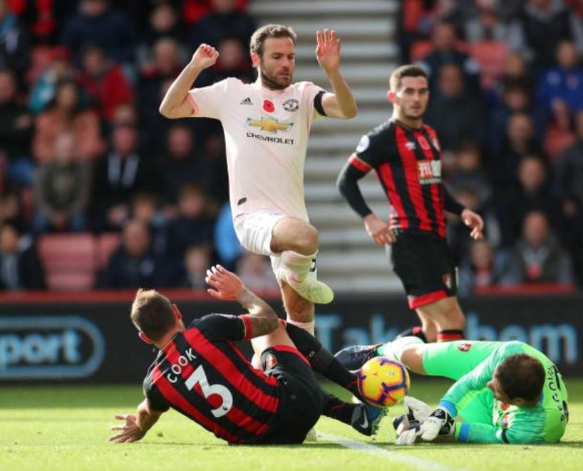 Chấm điểm trận Bournemouth 1-2 MU: Bay trên đôi cánh Martial Ảnh 10
