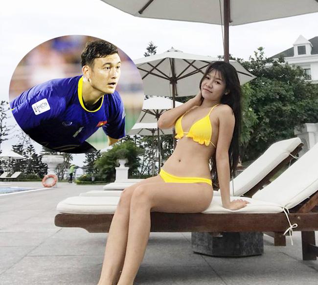 Bạn gái Quang Hải mặc áo tắm sexy nhất dàn bồ cầu thủ AFF Cup Ảnh 7