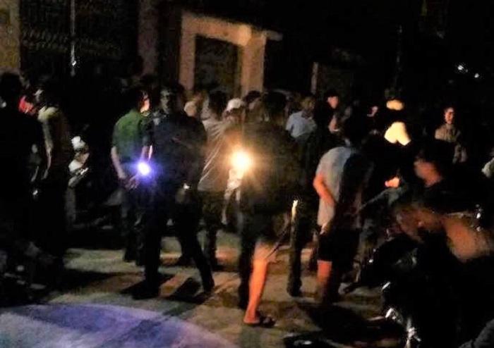 Lẻn vào nhà dân bị phát hiện, kẻ côn đồ chém 2 người thương vong ở Hưng Yên Ảnh 1