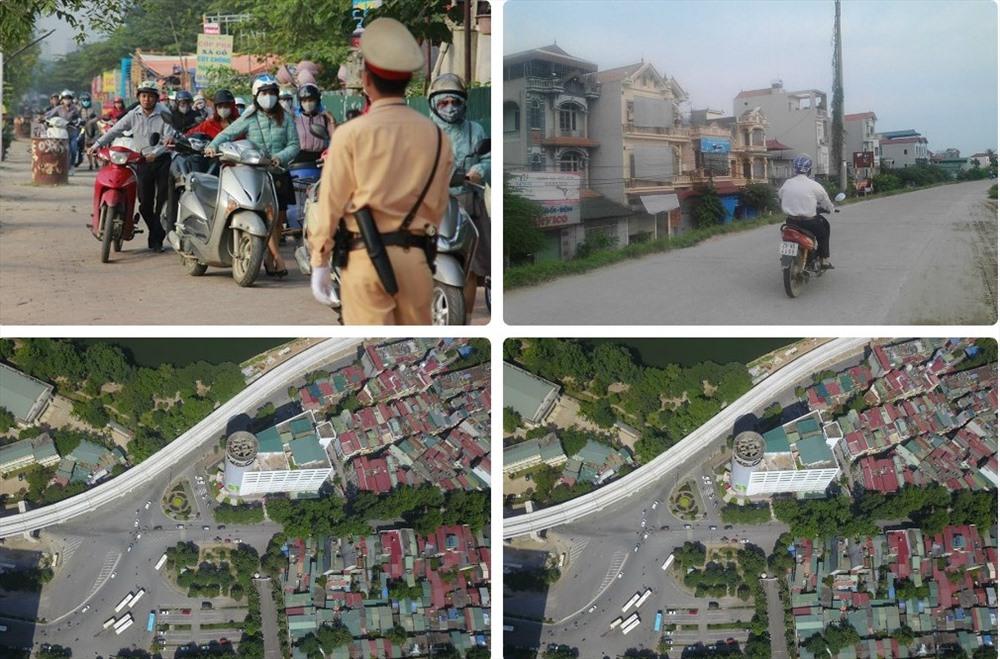 Tin tức Hà Nội 24h: Dắt xe máy ngược chiều trên vỉa hè trước mặt cảnh sát giao thông; chi tiết chặng đua F1 tại thủ đô Ảnh 1
