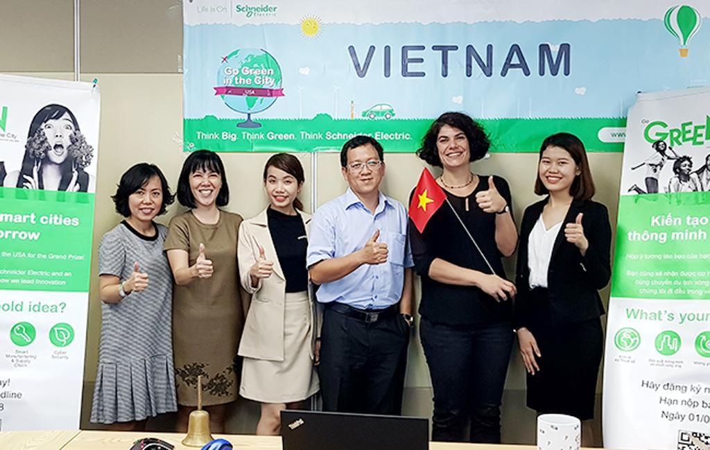 Sinh viên Duy Tân vào Chung kết thế giới cuộc thi 'Go Green In The City' 2018 Ảnh 1