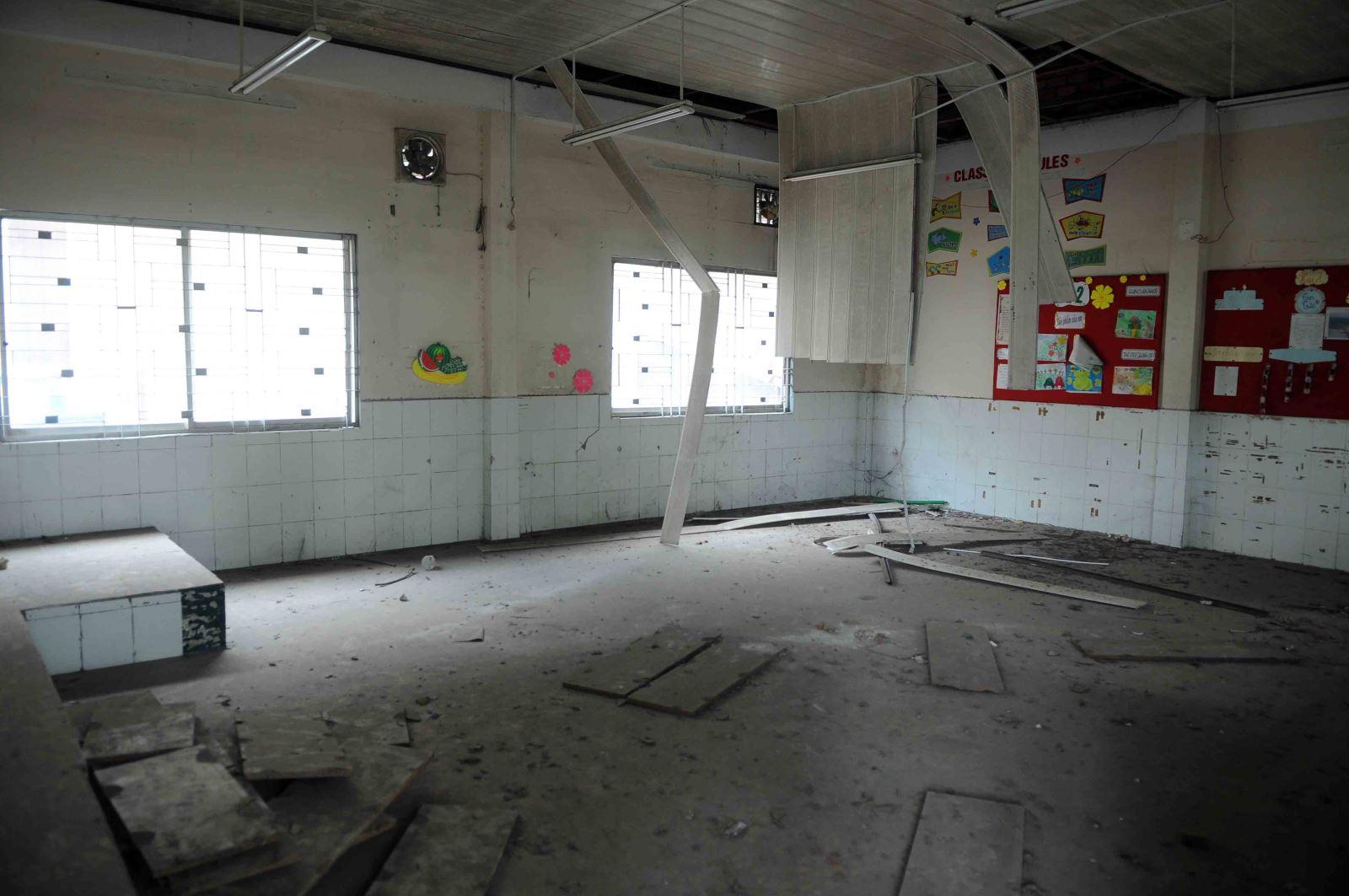 Học sinh phải đi học nhờ, trường thì bỏ hoang gần 3 năm Ảnh 4