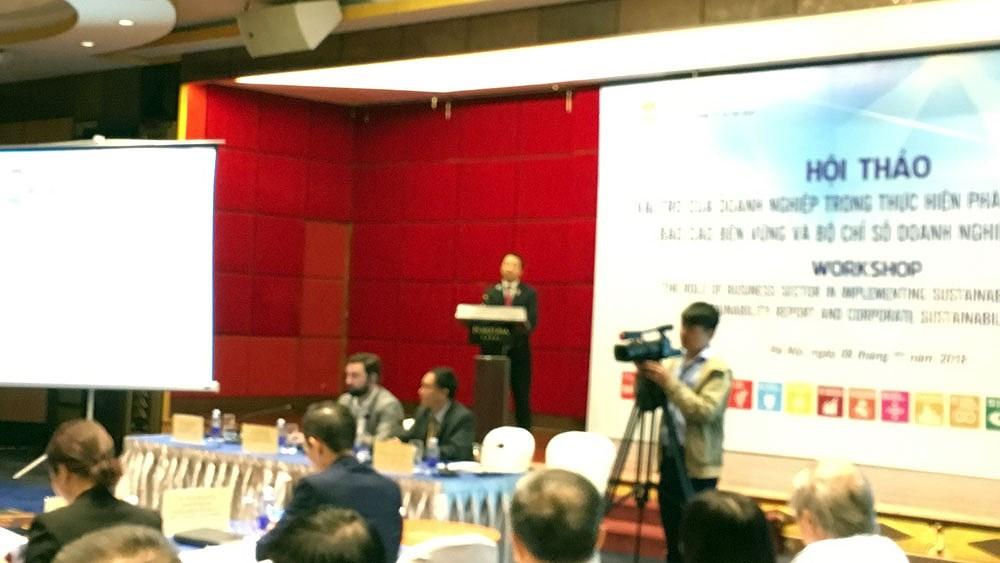 Ngày 22-11 sẽ tổ chức lễ tôn vinh 100 doanh nghiệp phát triển bền vững Ảnh 1