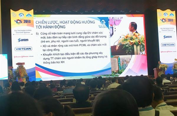 Gần 2.000 đại biểu tham dự Hội nghị ngành Nhãn khoa Việt Nam năm 2018 Ảnh 1