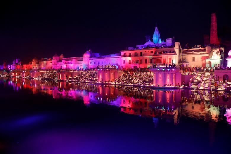 Tưng bừng lễ hội ánh sáng Diwali khắp nơi trên thế giới Ảnh 1