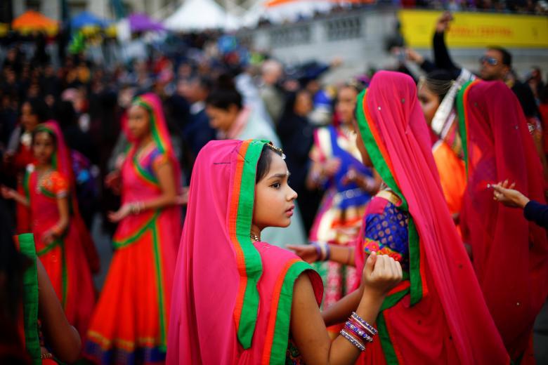 Tưng bừng lễ hội ánh sáng Diwali khắp nơi trên thế giới Ảnh 4