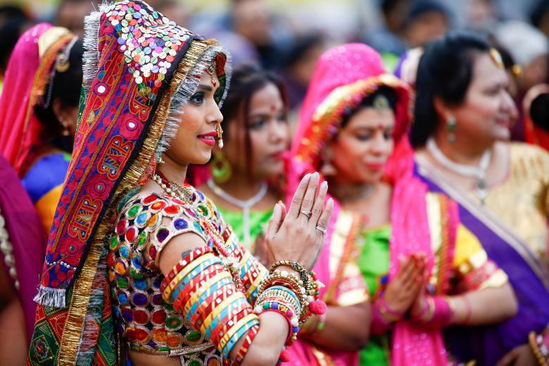 Tưng bừng lễ hội ánh sáng Diwali khắp nơi trên thế giới Ảnh 6