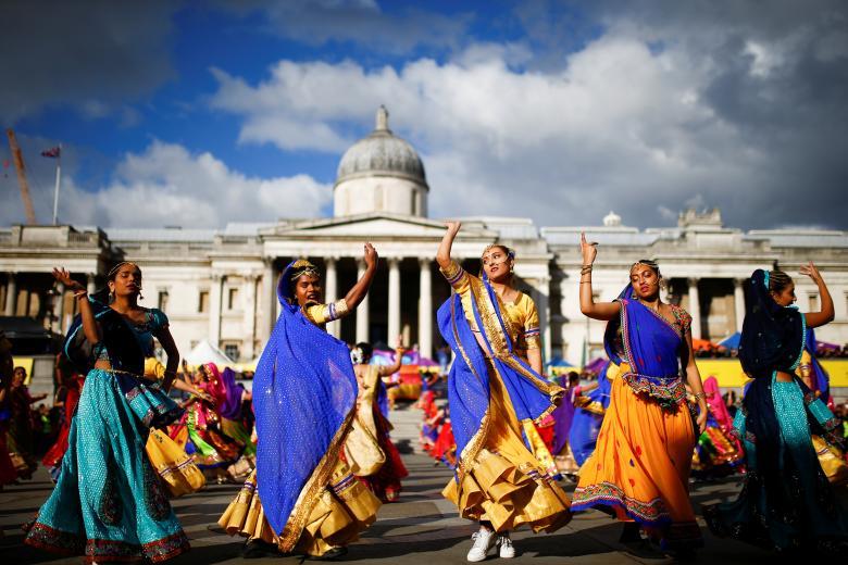 Tưng bừng lễ hội ánh sáng Diwali khắp nơi trên thế giới Ảnh 3