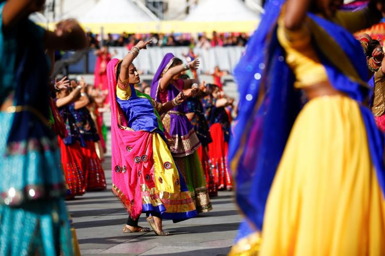 Tưng bừng lễ hội ánh sáng Diwali khắp nơi trên thế giới Ảnh 5