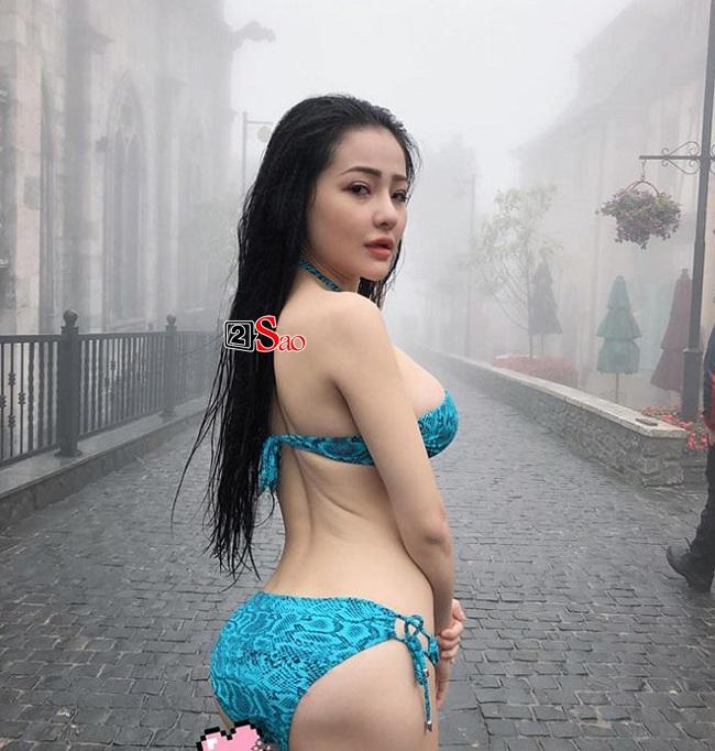 Hãi hùng với thân hình xuống cấp đáng sợ của 'thánh nữ ngực đẹp' Ngân 98 Ảnh 11