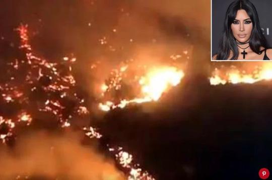 Hàng loạt ngôi sao Hollywood sơ tán khẩn cấp vì cháy rừng Ảnh 2