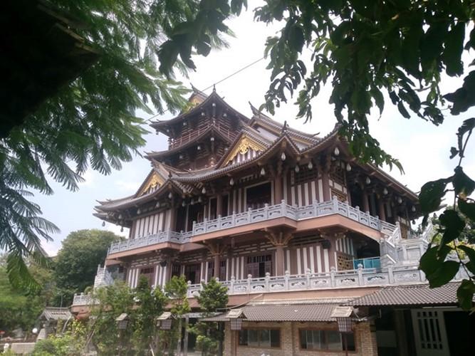 Độc đáo ngôi chùa mang kiến trúc Nhật Bản giữa lòng Sài Gòn Ảnh 3