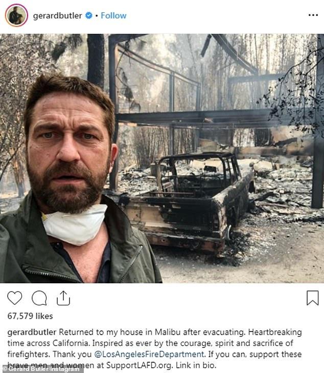 Sao Hollywood 'khóc ròng' khi nhà cửa bị thiêu rụi do cháy rừng khủng khiếp ở California Ảnh 3