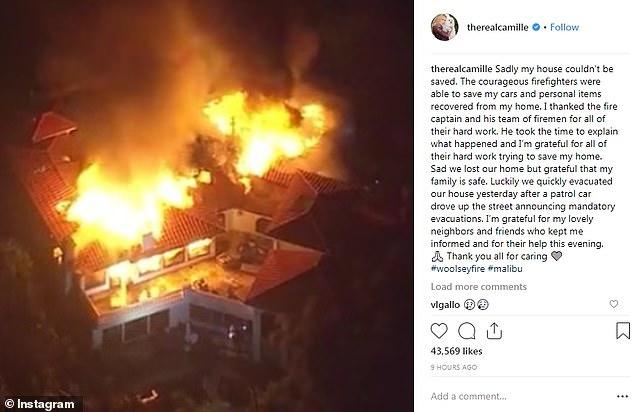 Sao Hollywood 'khóc ròng' khi nhà cửa bị thiêu rụi do cháy rừng khủng khiếp ở California Ảnh 6