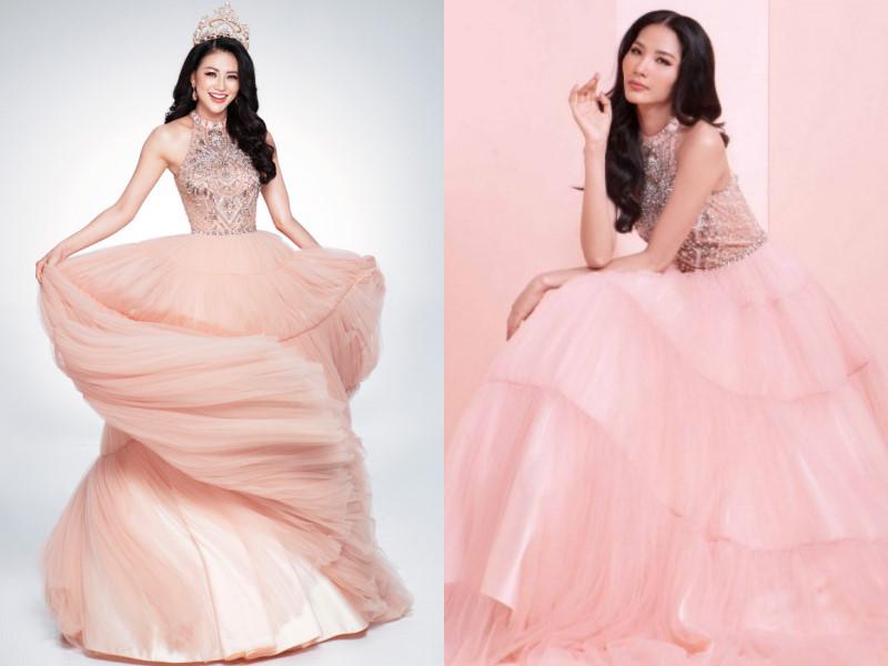 Hoa hậu Phương Khánh đụng hàng trang phục với loạt sao Việt Ảnh 3