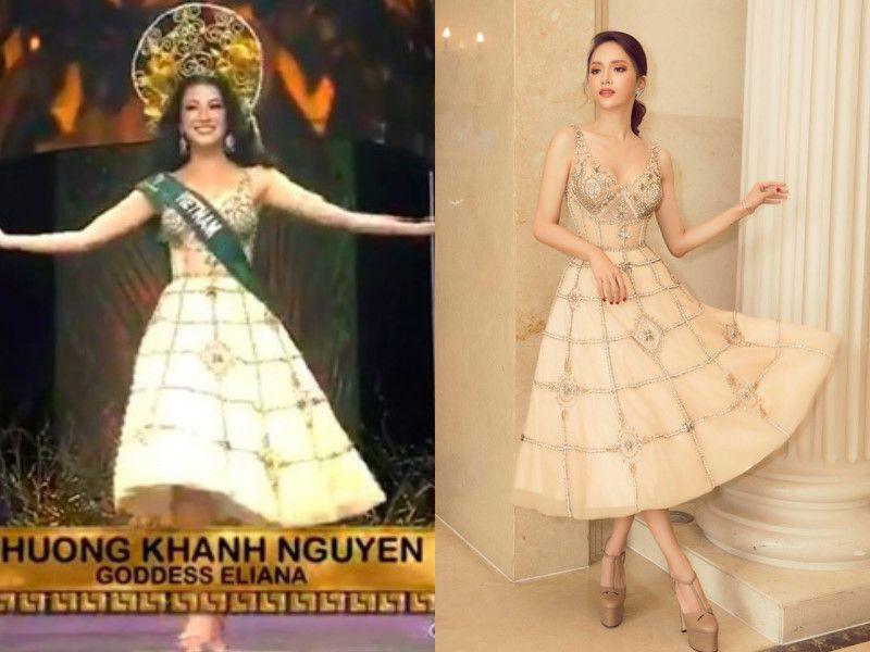 Hoa hậu Phương Khánh đụng hàng trang phục với loạt sao Việt Ảnh 4