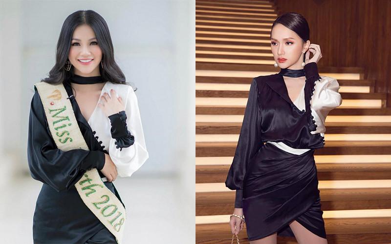 Hoa hậu Phương Khánh đụng hàng trang phục với loạt sao Việt Ảnh 1