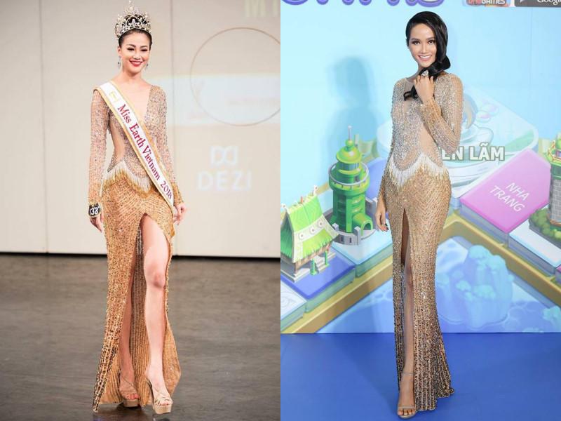 Hoa hậu Phương Khánh đụng hàng trang phục với loạt sao Việt Ảnh 2