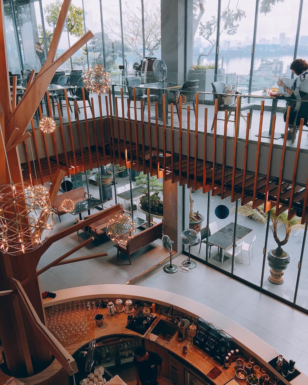 5 quán cà phê sang chảnh cho ngày lạnh ngắm vẻ đẹp Hà Nội Ảnh 17