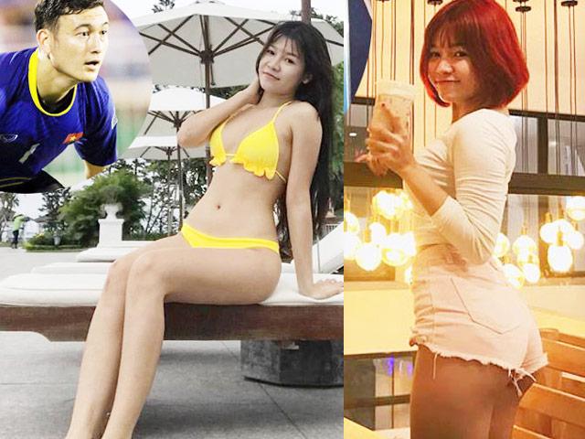 Bạn gái nóng bỏng của thủ môn Lâm Tây: 'Mặc sexy có thể thử lòng đàn ông' Ảnh 1