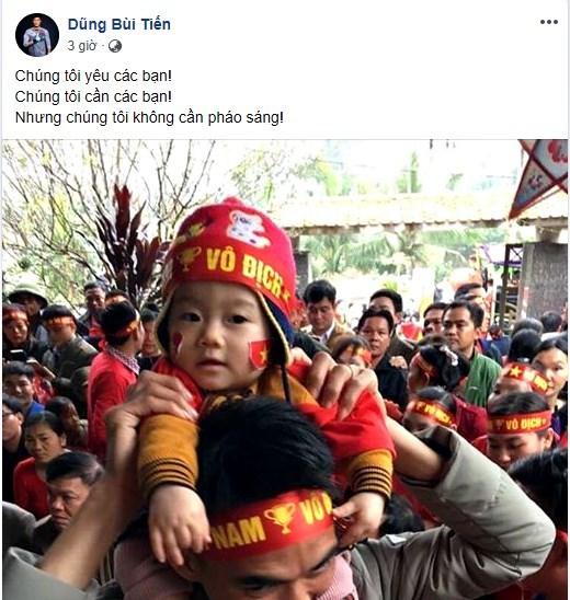 Quang Hải, Bùi Tiến Dũng: 'Chúng tôi không cần pháo sáng' Ảnh 2