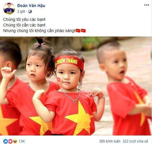 Quang Hải, Bùi Tiến Dũng: 'Chúng tôi không cần pháo sáng' Ảnh 3