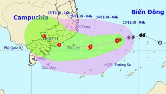 Tỉnh Bà Rịa - Vũng Tàu khẩn trương phòng chống bão số 9 Ảnh 1