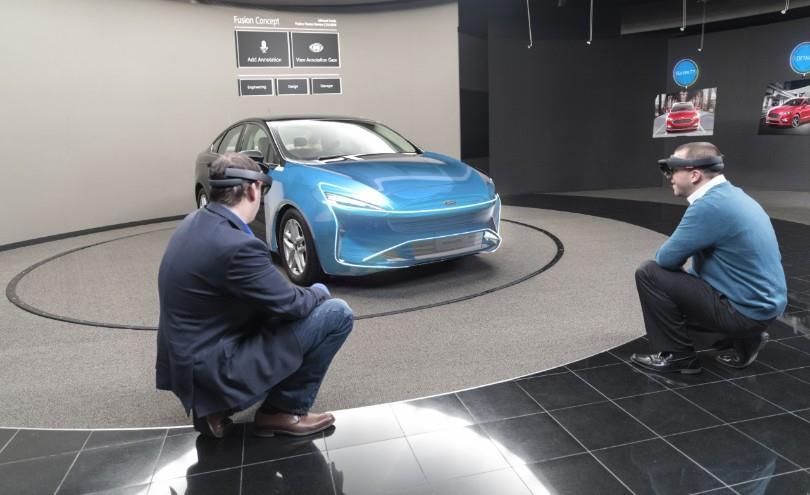 Thực tế ảo - công nghệ mới trong sản xuất xe hơi Ảnh 1