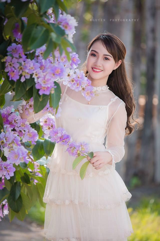 'Soi' nhan sắc thật của nữ sinh Tuyên Quang hóa thân thành 'em gái quê' trong bộ ảnh cúc họa mi gây sốt MXH Ảnh 1
