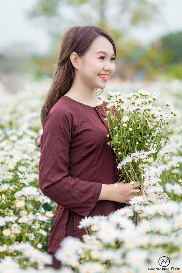 'Soi' nhan sắc thật của nữ sinh Tuyên Quang hóa thân thành 'em gái quê' trong bộ ảnh cúc họa mi gây sốt MXH Ảnh 5